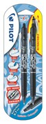 Pilot Black Frixion Clicker Twin Pack Carded