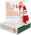 The Elf on the Shelf Christmas book and light boy elf