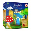 Fairy Door Blue Arched New