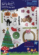 Fairy Doors Seasonal Decal Pack