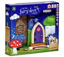 Fairy Door Purple Arched New