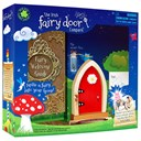 Fairy Door Red Arched New