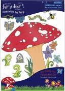 Fairy Doors Toadstool Decal Pack