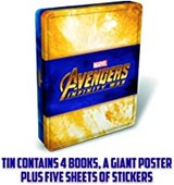 Avengers Tin Of Books
