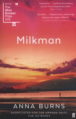 Book Cover of Milkman by Anna Burns