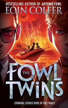 Book cover of The Fowl Twins book by Eoin Colfer