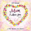 2019 BMA Mini Calendar Mum, I Love You 0818