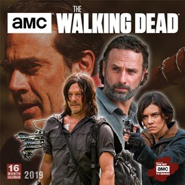The Walking Dead™ AMC 2019 Square Wall Calendar