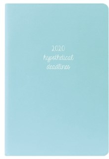 Light Blue 2020 Leatherette Planner by
