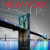 New York Glitz 2020 Square Wall Calendar