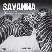 Savanna 2020 Square Wall Calendar