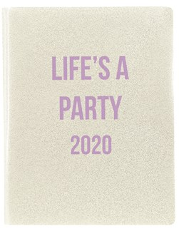 Life's a Party 2020 Clear as Day Planner