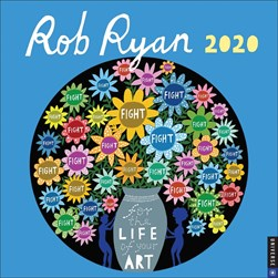 Rob Ryan 2020 Wall Calendar by Rob Ryan