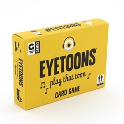 GINGER FOX EYETOONS CARD GAME 517