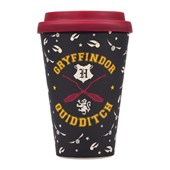 Travel Mug (Bamboo) - Harry Potter (Quidditch)