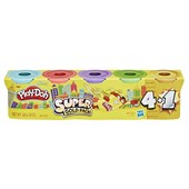 Playdoh Silver Gold 5 Pack Assorted