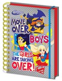 DC Super Hero Girls Move Over Boys Notebook