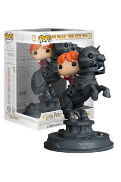 Image of Ron Weasley on chess piece Pop! figurine from Chamber of Secrets Movie Scene
