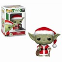 POP! Vinyl: Star Wars: Holiday Santa Yoda