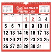 2020 Business Calendar Clearview Monthly