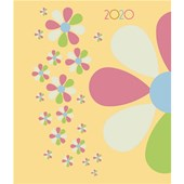 Geometric Floral A6 Diary 2020