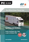 Driver Theory Test (cd Fs) Trucks& Bus Incl Step 1 & 2