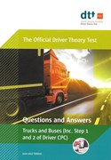 Driver Theory Test (fs) Bk Truck & Bus Cpc Guide 2017