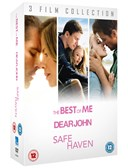 THE BEST OF ME:DEAR JOHN:SAFE HAVEN DVD Boxset