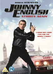 JOHNNY ENGLISH STRIKES AGAIN DVD