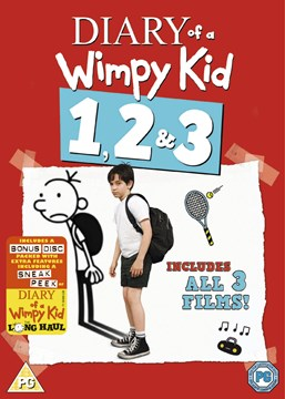 Diary Of A Wimpy Kid 1-3 Box Set 20033 417