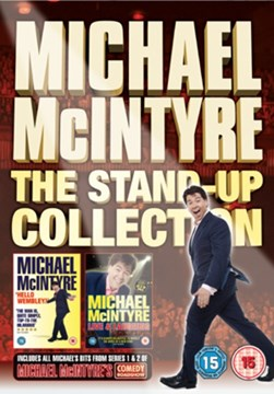 MICHAEL MCINTYRE 2010 STAND UP DVD COLLECTION