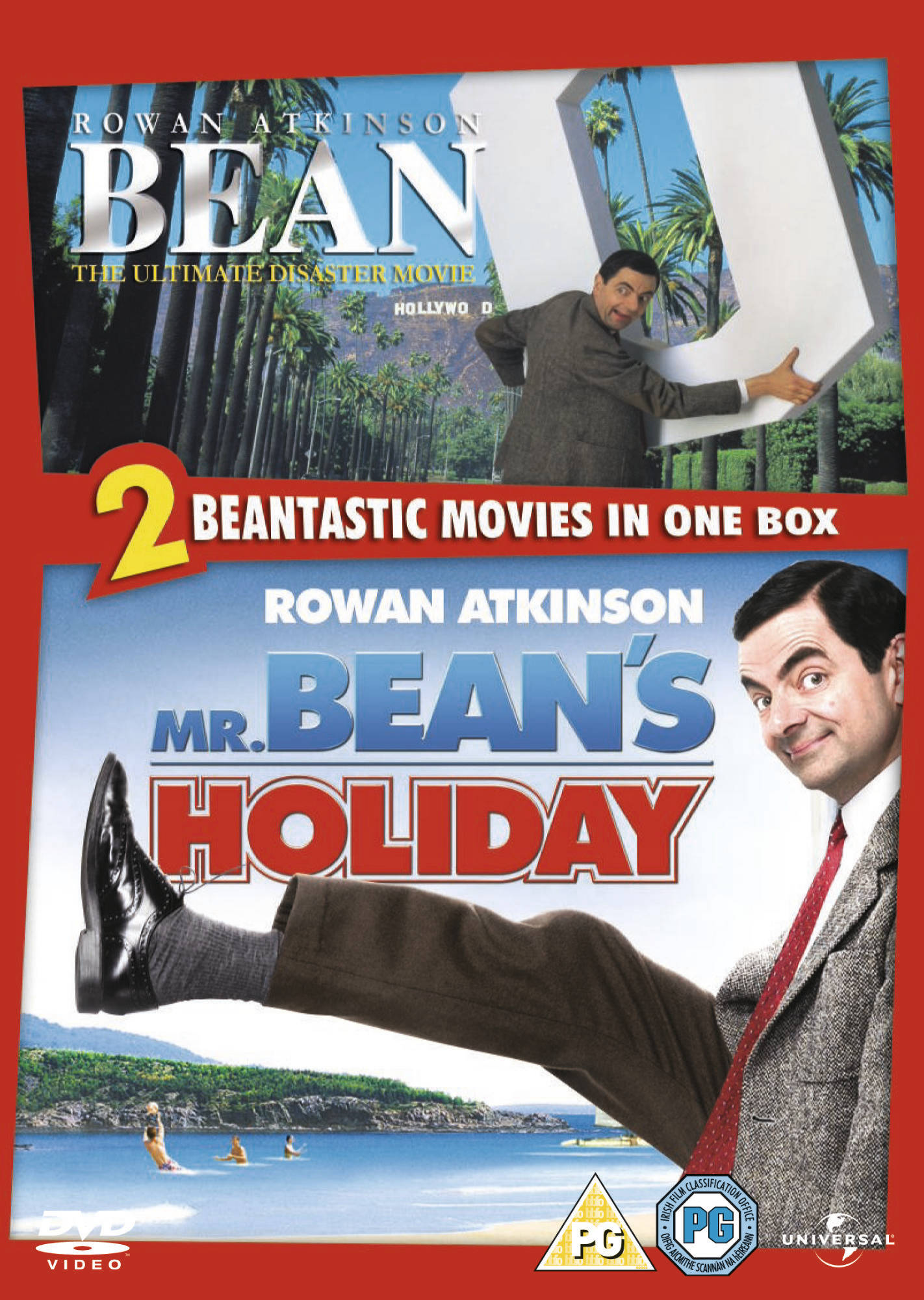 Bean Mr Beans Holiday Movie Dvd Boxset