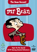 MR BEAN ANIMATED VOL 1-6 20TH ANNIVERSARY DVD
