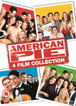 AMERICAN PIE 4 FILM DVD BOX SET