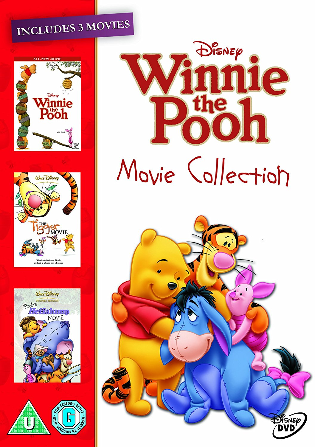 WINNIE THE POOH MOVIE DVD COLLECTION