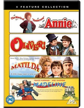 ANNIE / MADELINE / MATILDA / OLIVER - DVD COLLECTION