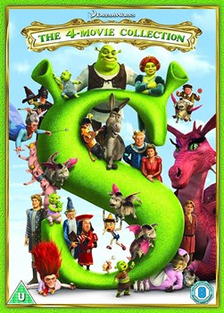 SHREK/ SHREK 2/ SHREK THE THIRD/ SHREK FOREVER AFTER - 4 MOV