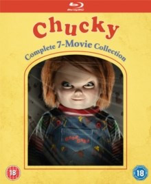 Chucky Complete Collection Blueray Disc