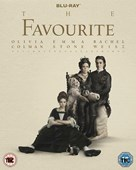 THE FAVOURITE BLU-RAY