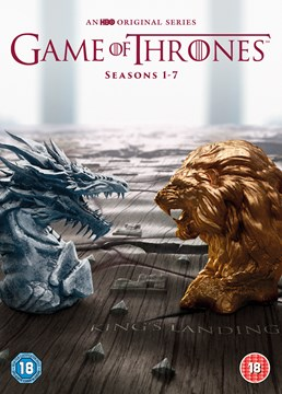 Game of Thrones Full first to seventh season DVD cover