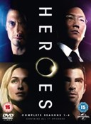 Heroes - Seasons 1-4 DVD