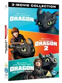 HOW TO TRAIN YOUR DRAGON: 1- 3 MOVIE COLLECTION DVD