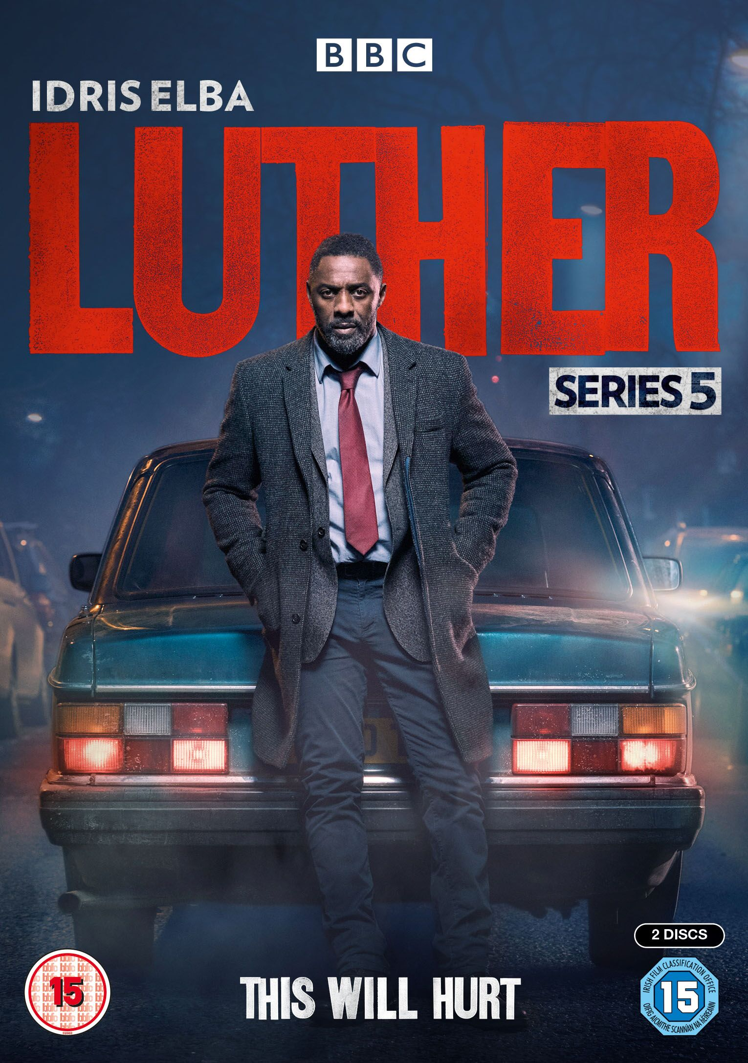 LUTHER SERIES 5 DVD