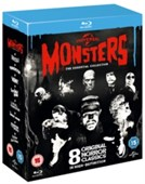 Classic Monsters: The Essential Collection Blueray Disc
