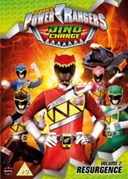 POWER RANGERS DINO CHARGE RESURGENCE VOL 2 DVD