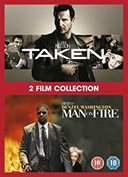 MAN ON FIRE / TAKEN 2 FILM COLLECTION