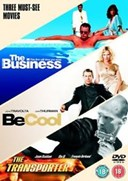 BUSINESS / TRANSPORTER / BE COOL 3 FILM COLLECTION