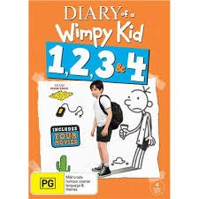 DIARY OF A WIMPY KID 1- 4 DVD