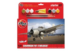 Airfix Starter Set Medium Grumman Wildcat