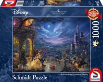 Disney The Beauty & the Beast - Thomas Kinkade 1000pc